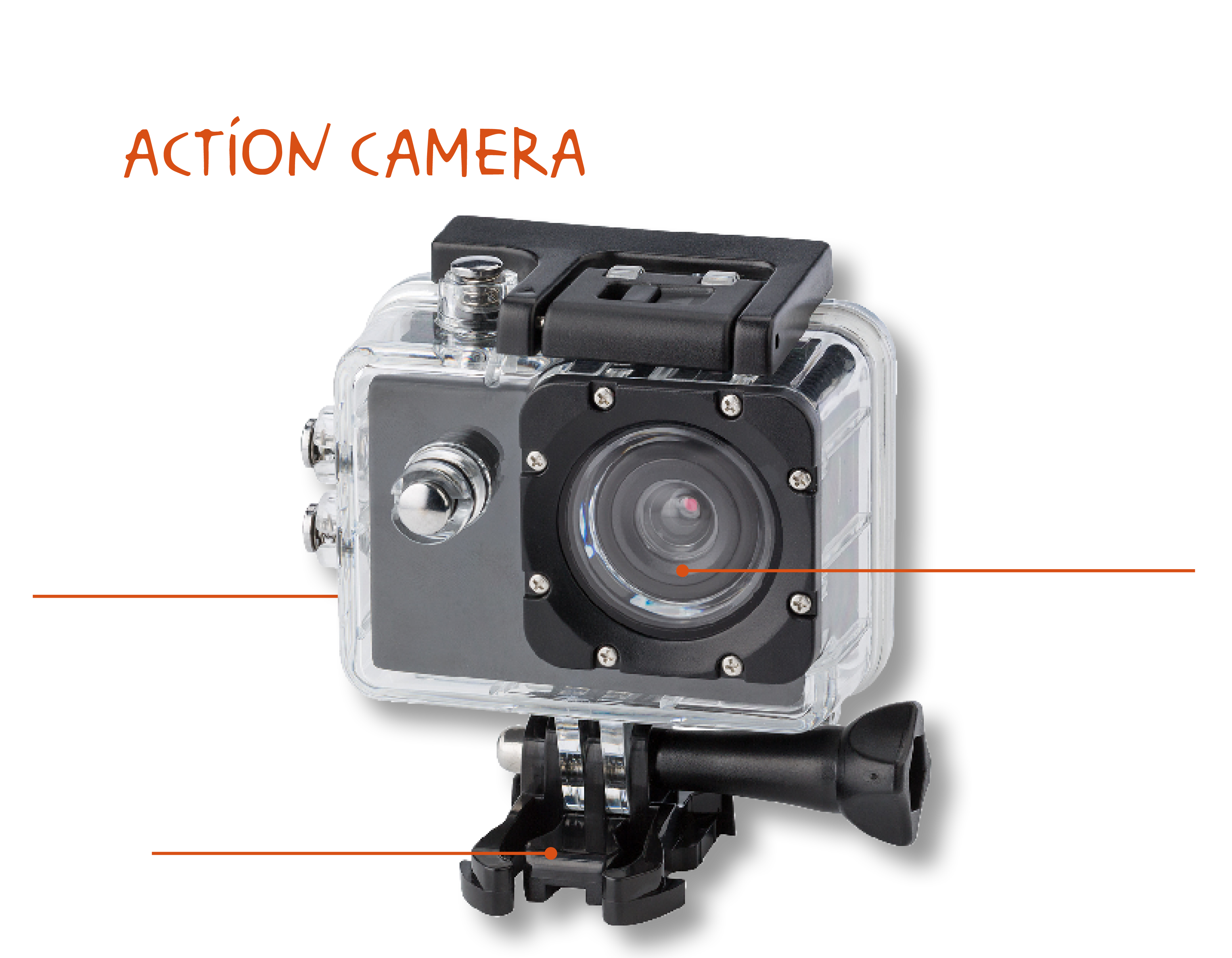 newsletter action cam personalizzata